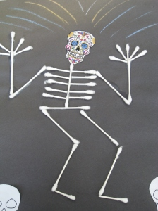 Easy Craft for Day of the Dead
